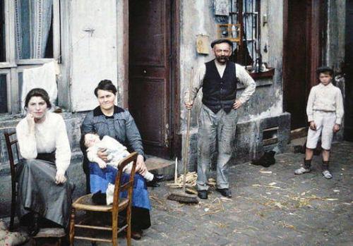 【画像】 カラー写真で見る1914年のパリの風景 超絶ノスタルジック