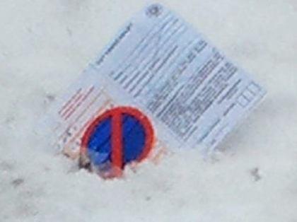 ドイツ人「雪で自動車を作ってみた」 → 警官「はい駐禁な」 … 雪で出来た自動車、駐禁を取られる