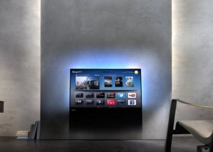 オランダ家電メーカーのフィリップス、ガラス板のようなスタイリッシュなTV … 「DesignLine」 6月に発売 (動画あり)
