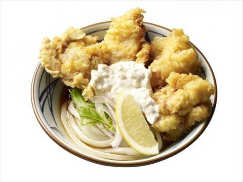 タルタルソース好き歓喜! 丸亀製麺がタルタルソースのかかった鶏天うどんを発売