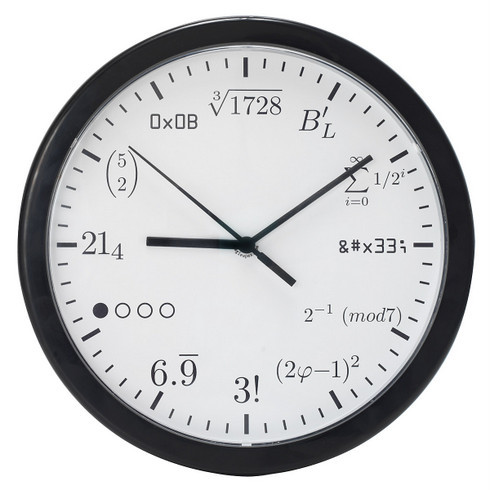 理系にとっては普通でも、文系には理解不能な時計
