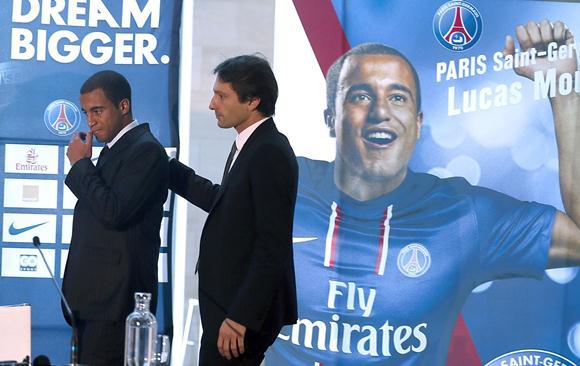 PSG無双、移籍金50億円でブラジル代表の20歳 MFルーカス・モウラを獲得!