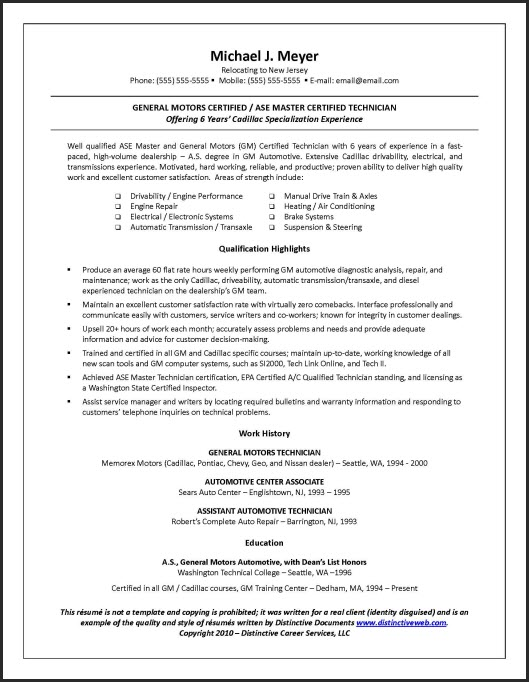 Sample Resume Multiple Positions Same Company 395373 Download One