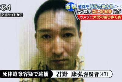 神戸の生田美玲ちゃんの切断された遺体遺棄、君野康弘容疑者(47)を逮捕 … 知的障害手帳所持、不審な挙動で住民とのトラブル絶えず