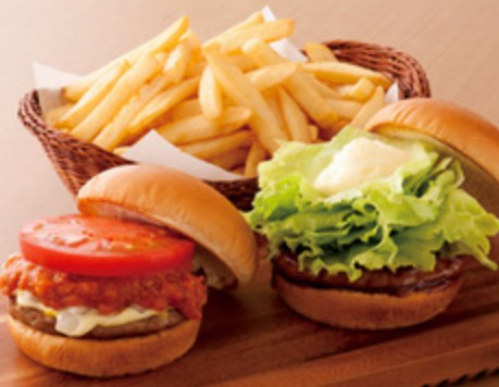 モスバーガーセット550円wwwwwwwwww
