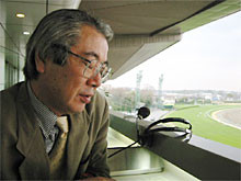 【皐月賞】 柏木集保「JRAは芝の整備を控えめに」