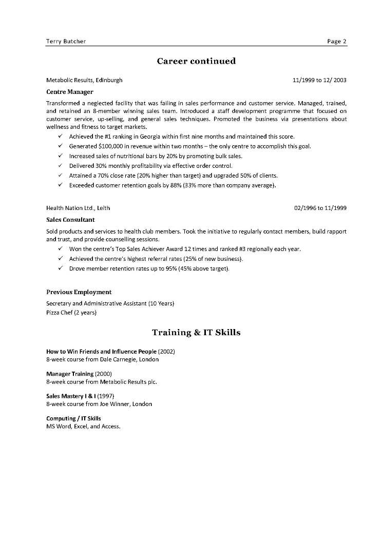Learn Report Writing skills - Home Study - Business Training resume - how to write a business resume