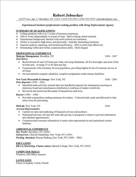 list of work skills for resumes