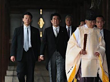 安倍首相の靖国参拝、アメリカと中国には事前に告知 … 韓国には通知せず