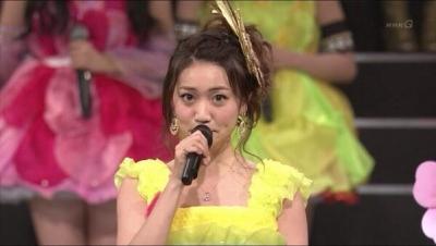 【速報】大島優子がAKB48卒業を紅白で発表wwwwwwwwwwマジかよwwwwwwwww(動画あり)