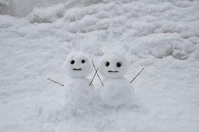 近所のガキが作った雪だるまを深夜に破壊するの楽しすぎワロタ