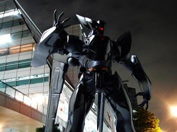 黒いロボットで一番カッコイイやつ決定戦