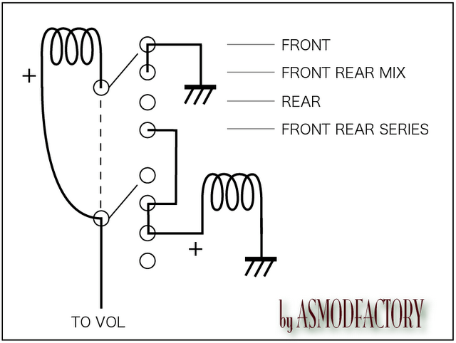 humbucker wiring diagram wires attached to 4