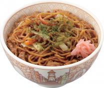 すき家『やきそば牛丼』の食レポ 高カロリーだけあって満腹感がマジでヤバイ!