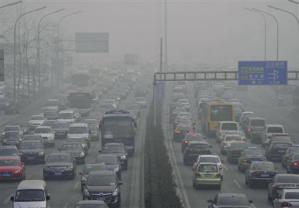 中国で有毒物質を含んだ霧が発生