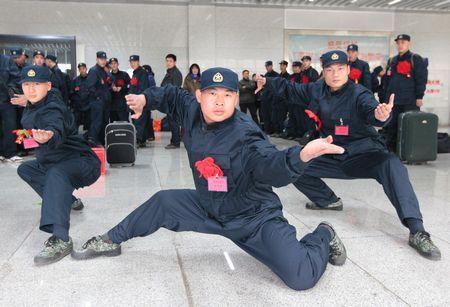 カンフーの達人30人が中国海軍陸戦隊に入隊 これはヤバイ【にわか日報】
