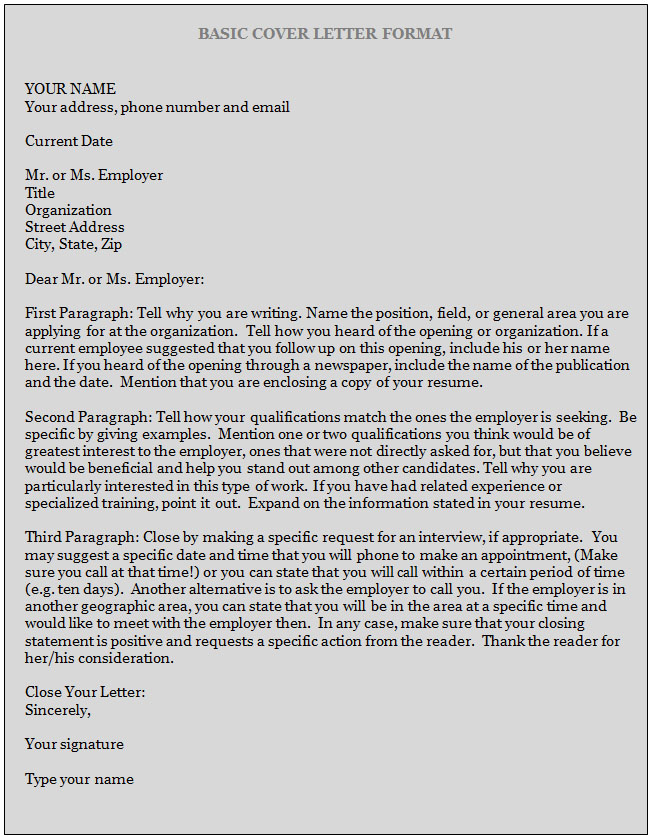Best Cover Letter Templates » how to write a cover letter Cover - how to write cover letters