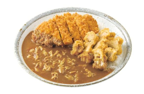 ココイチの鶏三昧カレー 1,673キロカロリー 1,230円