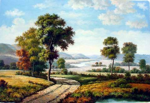 Wallpaper Dinding Pemandangan 3d Decorating A Home Or Office With Landscape Art Prints Tufudy