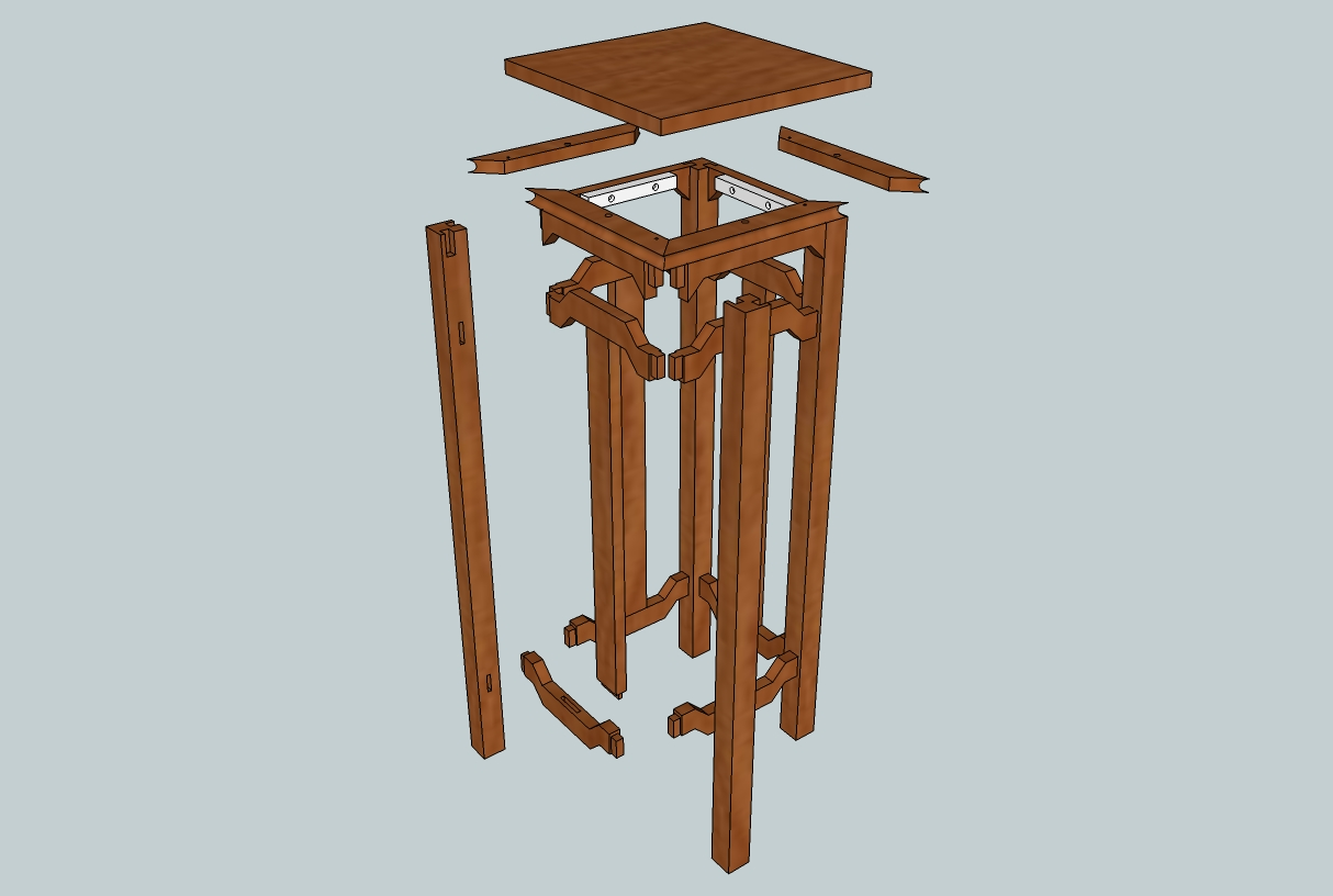 Build Plant Stand Choice Wood Plans For Plant Stand Patt