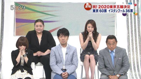 【画像】オリンピック開催地が決定した瞬間の土田晃之の表情wwwwwwwwwwwww