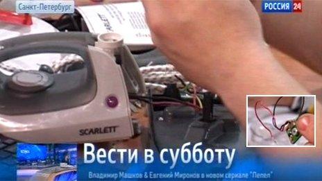 ロシア「中国からアイロンを輸入した結果wwwwwwwwwww」