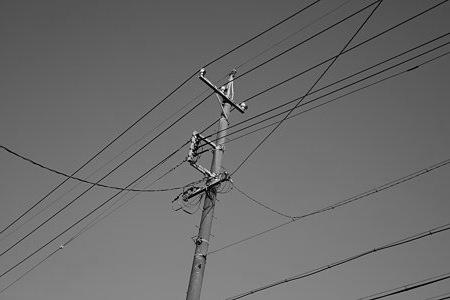 電信柱の武勇伝