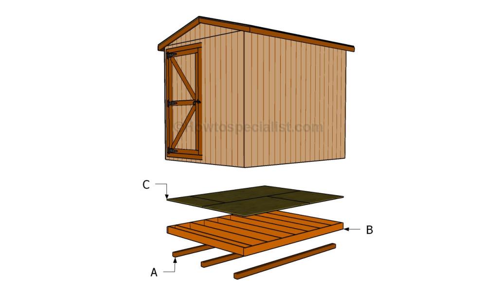 Build Shed Base Concrete Anakshed