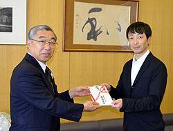 【競馬】 武士沢騎手、故郷・三戸町のスポーツ振興へと100万円寄付 「子どもたちに夢を持ってほしい」