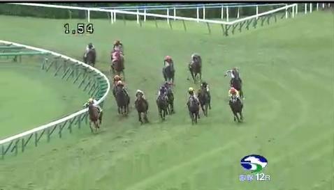 【競馬】 函館最終レースのラップタイムがヤバいwwwwwwww