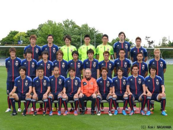 日本代表 コラージュ