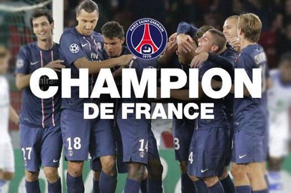 PSG 優勝
