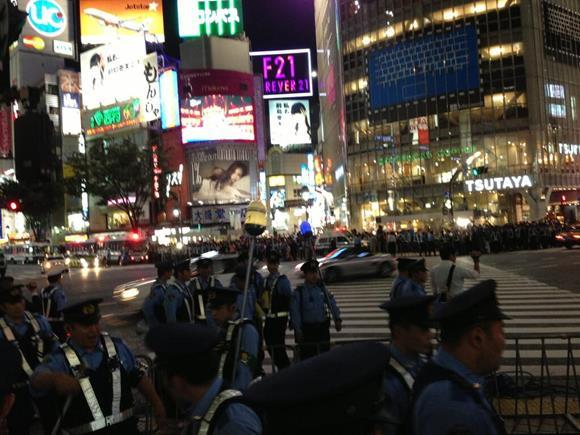 【祝ワールドカップ】渋谷がカオスな状況に!…と思ったら大阪はもっとカオスだった。