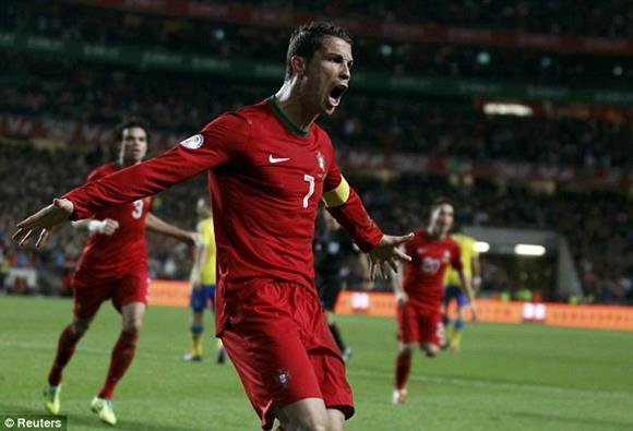 【W杯欧州予選PO1st】ポルトガル×スウェーデン、ウクライナ×フランス、ギリシャ×ルーマニアの結果(ハイライト動画)