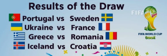 W杯欧州予選プレーオフの組み合わせが決定! ポルトガルがスウェーデンと対戦
