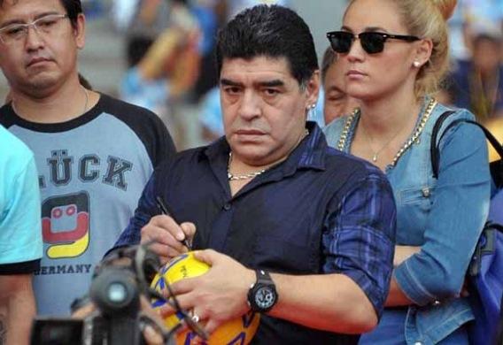 マラドーナ氏「中立地ならブラジルは勝てなかった」【コンフェデ杯】