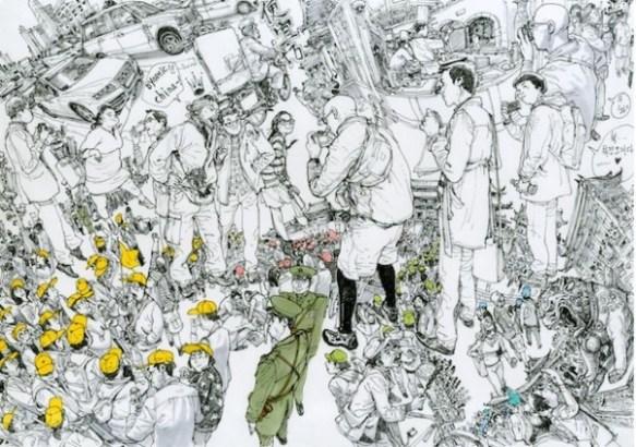 【村田雄介も絶賛】「世界一上手い漫画家」と呼ばれる韓国人アーティストの個展が東京で開かれる。
