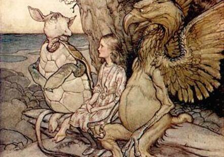 """ルイス・キャロル作『不思議の国のアリス』 … 主人公""""アリス""""のモデルとなった実在の女性""""アリス・リデル""""の写真"""