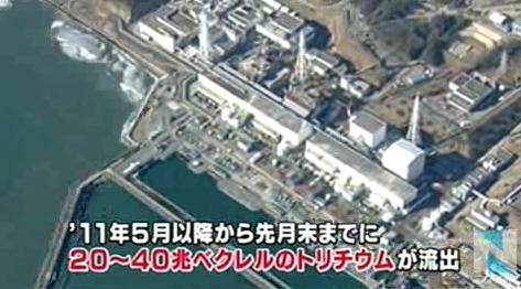 """東京電力、福島第一原発で""""1日に400トンの地下水が海へ流出している""""との試算を公表 … 汚染水が地下水を通じて海へ流出している問題"""