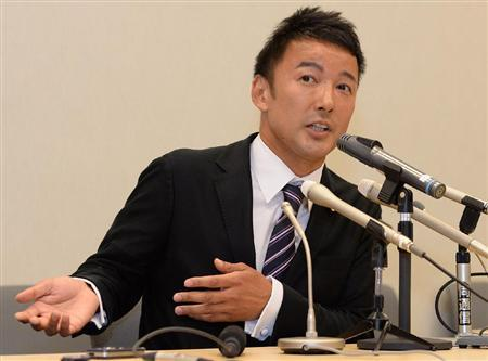 山本太郎氏が「離婚を隠していた」と会見上で謝罪、一方、婦女暴行報道は否定 … 「有権者には黙っていて申し訳ない」 元妻は離婚後も実家には戻らず、山本姓のまま 慰謝料は200万円