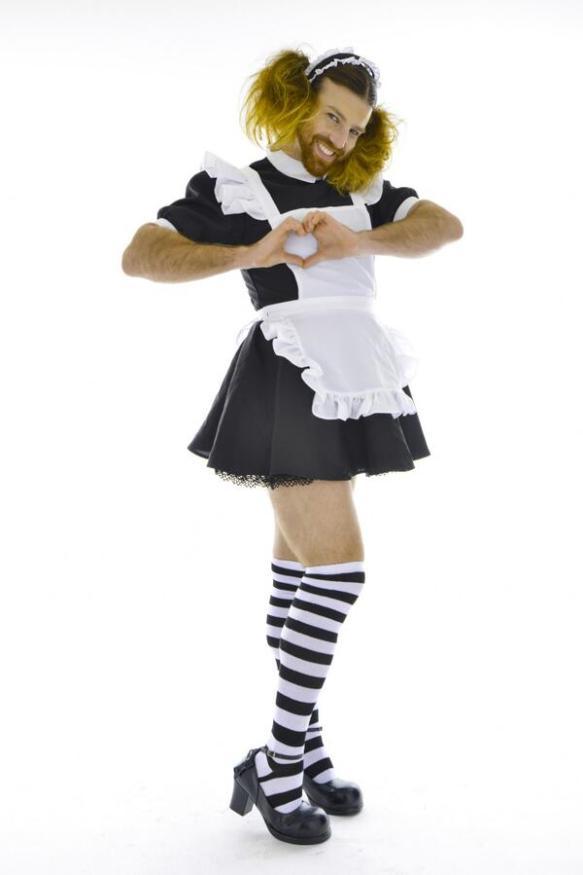 【画像】猫耳ツインテールにニーソ穿いた外人可愛すぎわろたwwwwwwwwwww