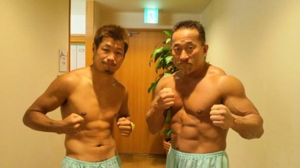 プロボクサーと格闘家の肉体の違いwwwwwww