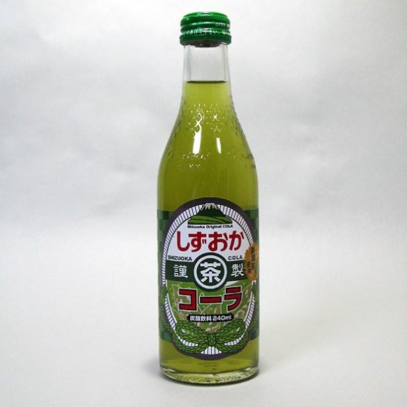 【画像】静岡が緑茶とコーラ混ぜて売ってるwwwwwwwwwwww