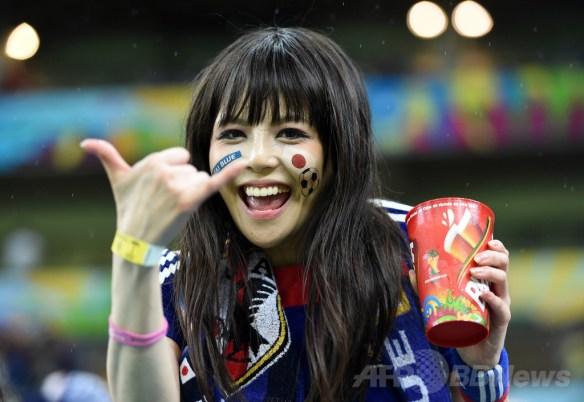 【画像あり】ブラジルに可愛い日本サポがいる件wwwwwwwwwww
