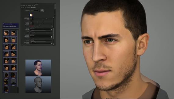 サッカーゲーム「FIFA 15」のキャラクターが凄いことになってキタ━(゚∀゚)━!!