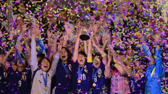 U-17女子日本代表 W杯2014コスタリカ大会優勝 スペインを2-0で撃破し4冠達成!(動画)