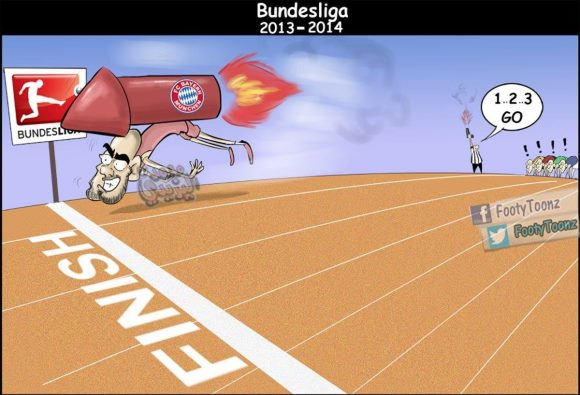 バイエルン史上最速の3月優勝を達成、選手の喜びの模様が続々とアップされる。