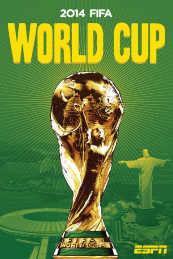 ESPN、W杯出場32ヶ国のイラストポスター発表(画像32枚)