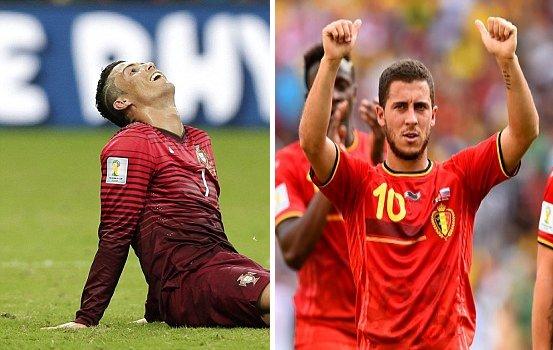 【動画ハイライト】ポルトガル対アメリカ、ベルギー対ロシア