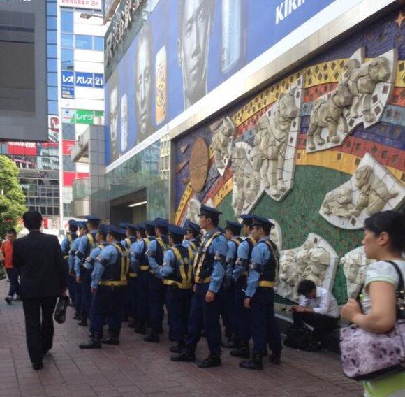 【W杯】日本ほぼ終戦でも渋谷は大盛り上がり!痴漢ジャパンに気をつけましょう!